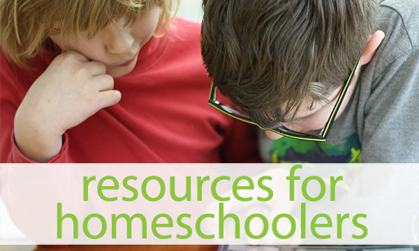 Resources for homeschoolers